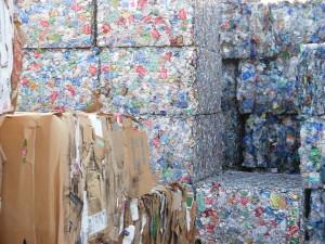 recycling alum plastic occ bales